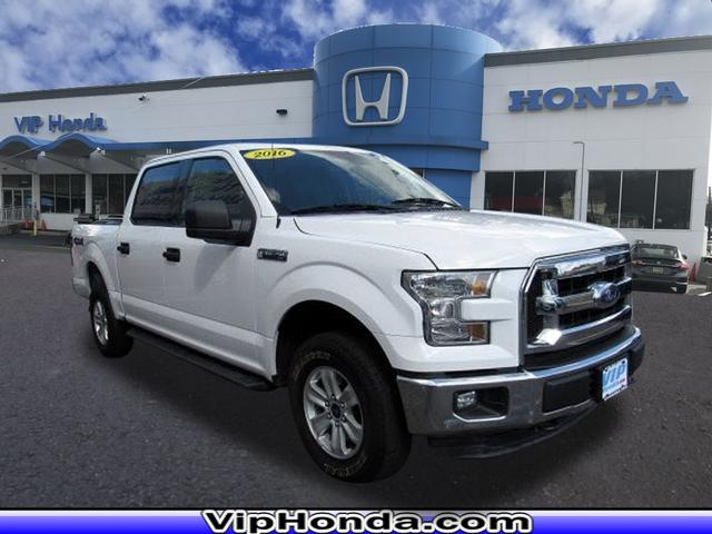Pre-Owned 2016 Ford F-150 XLT SuperCrew