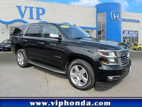 Pre-Owned 2016 Chevrolet Tahoe LTZ Four Wheel Drive SUV