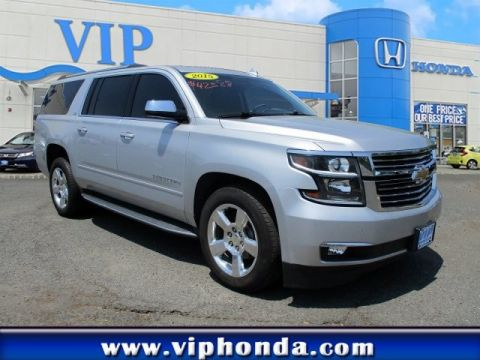 Pre-Owned 2015 Chevrolet Suburban LTZ Four Wheel Drive SUV