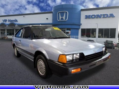 Pre-Owned 1985 Honda Accord Base 1.8T FWD 2dr Hatchback