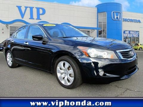 Pre-Owned 2008 Honda Accord Sdn EX-L Front Wheel Drive Sedan