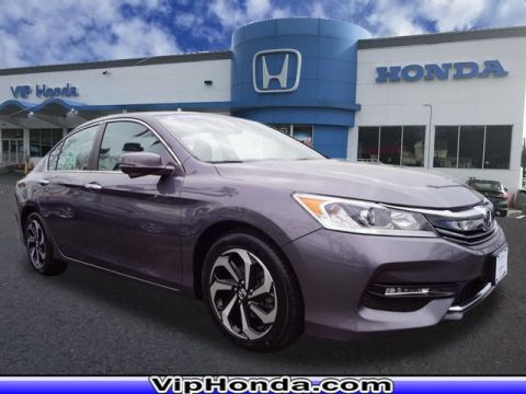 Certified Pre-Owned 2016 Honda Accord EX-L 2.4T FWD EX-L 4dr Sedan