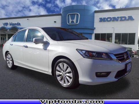 Pre-Owned 2015 Honda Accord EX-L 2.4T FWD EX-L 4dr Sedan w/Navi