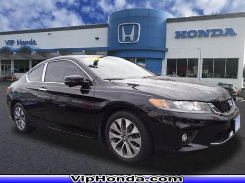 Pre-Owned 2013 Honda Accord EX-L 2.4T FWD EX-L 2dr Coupe