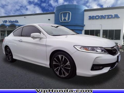 Certified Pre-Owned 2016 Honda Accord EX-L 2.4T FWD EX-L 2dr Coupe