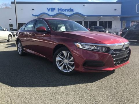 New 2018 Honda Accord Sedan LX Front Wheel Drive Sedan