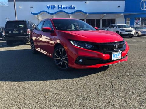 New 2019 Honda Civic Sport FWD Sport 4dr Sedan 6M