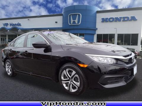 Certified Pre-Owned 2016 Honda Civic LX FWD LX 4dr Sedan CVT