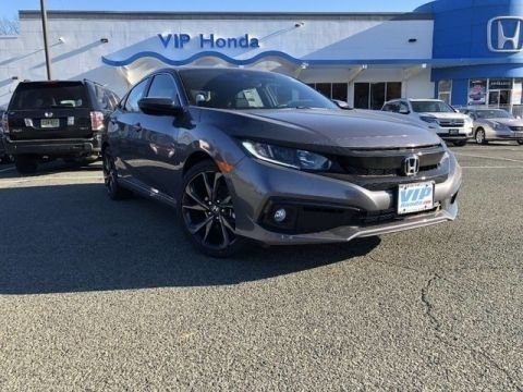 New 2019 Honda Civic Sport FWD Sport 4dr Sedan CVT