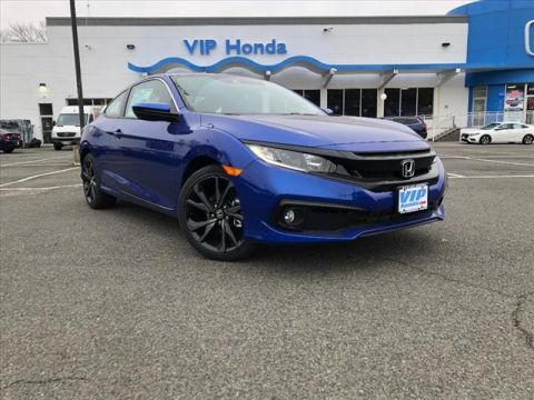 New 2019 Honda Civic Sport FWD Sport 2dr Coupe 6M