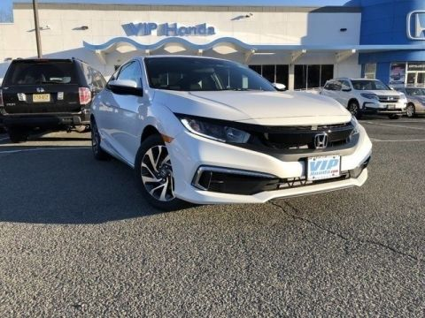 New 2019 Honda Civic LX FWD LX 2dr Coupe