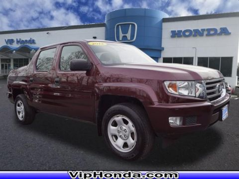 Pre-Owned 2012 Honda Ridgeline RT 4WD 4x4 RT 4dr Crew Cab