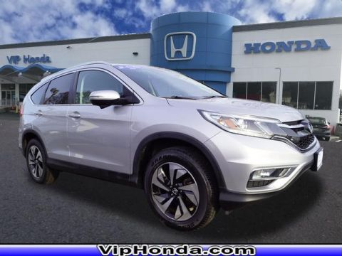 Certified Pre-Owned 2015 Honda CR-V Touring AWD AWD Touring 4dr SUV