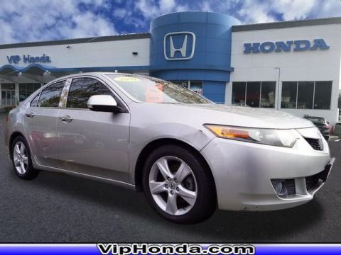 Pre-Owned 2009 Acura TSX Base FWD 4dr Sedan 5A